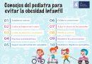 Decálogo de la Sociedad Valenciana de Pediatría: Cómo prevenir la obesidad en tiempos de COVID-19
